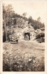 LPS13  S. Dakota Custer State Park  Lower Tunnel on Needles Lodge Rd Postcard RP