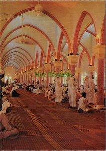 Bahrain Postcard - Prayer in Juma Mosque  RR10667