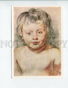 3141748 Portrait of Son Boy by RUBENS Old russian PC