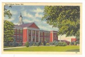 High School, Dover, Delaware,30-40s