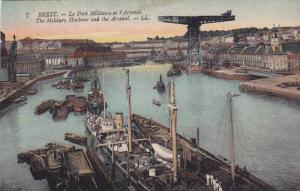 BREST, The Military Harbour ans the Arsenal, Finistere, France, 00-10s