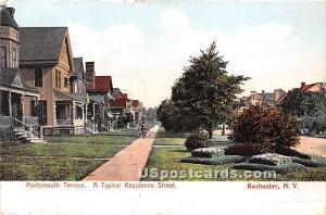 Portsmouth Terrace Rochester NY 1908