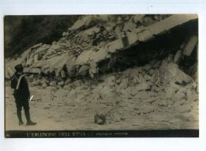 247776 ITALY Eruption volcano Etna appalling devastation photo