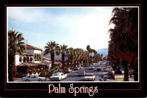 California Palm Springs Palm Canyon Drive