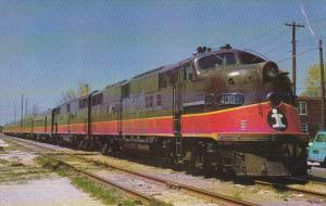 Illinois Central Railroad EMD E-6 #4001 Locomotive Lst Run Governors Special ...