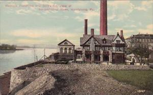 Fleming Residence And Birds Eye View Of Suspuehanna River Harrisburg Pennsylv...