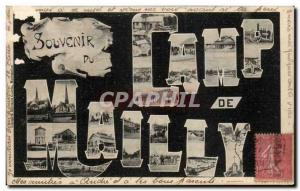 Old Postcard At the camp of Mailly