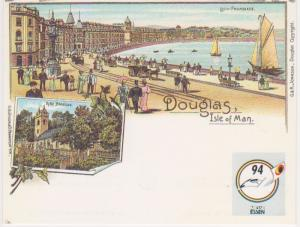 DOUGLAS ISLE OF MAN POSTAL CARD