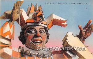 Carnaval De Nice Circus Unused