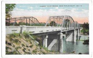 Current River Bridge, near Poplar Bluff, Missouri unused Kropp