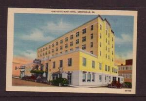 Linen colour PC Dixie Hunt Hotel Gainville, GA unused
