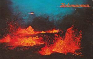 HAWAII, PU-1987; Helemaumau Eruption, Hawaii Volcanoes National Park