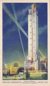 Havoline Thermometer, Century of Progress International Exposition, Chicago, ...