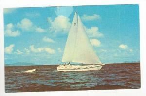 Boat @ Sea off of Tortola,British Virgin Islands 1977 PU