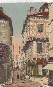 BF27319 chalon sur saone la rue st vincent    france  front/back image