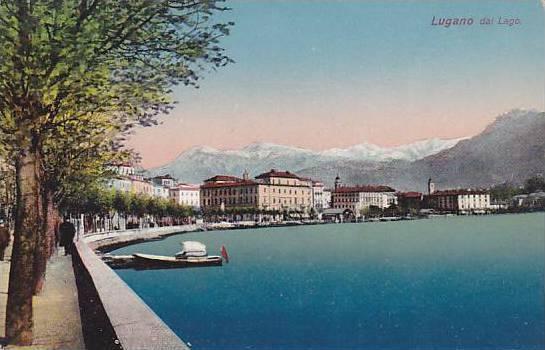 Lugano Dal Lago, Switzerland, 1900-1910s