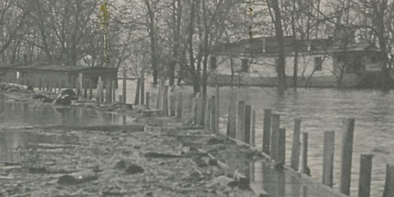 RPPC Flood Disaster at Columbus, Ohio - presume 1913