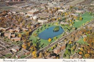 Connecticut Storrs Aerial View University Of Connecticut