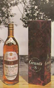 ADV: Grant's Stand Fast Blended Scotch Whisky , 50-60s