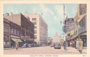 Ouellette Avenue , WINDSOR , Ontario , Canada , 30-40s