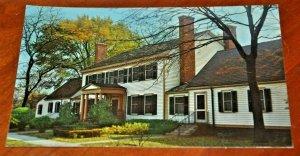 Postcard Patrick Henry House OLIVER WOLCOTT Dearborn INN Michigan CURTEICHCOLOR