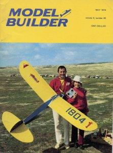 Vintage Model Builder Magazine May 1974