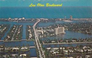 Scenic Greetings from Las Olas Boulevard,  Ft. Lauderdale,  Florida,  40-60s