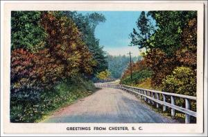 Greetings from Chester SC