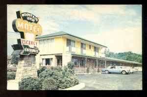 dc514 - HAMILTON Ontario 1970s Mountview Motel Postcard