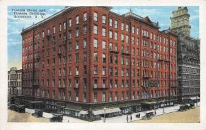 Powers Hotel and Powers Bldg., Rochester, New York, Early Postcard, Unused