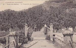 La Passerelle Des Vivaraises, Vals-les-Bains (Ardèche), France, 1900-1910s