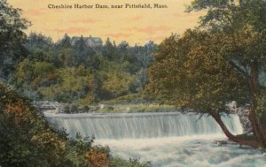 PITTSFIELD , Massachusetts, 1911 ; Cheshire Harbor Dam