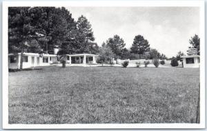 Griffin, Georgia Postcard THE DIANE COURT Motel Highway 41 Roadside 1950s Unused