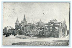 National Museum Washington D.C. 1909 Bryan Ohio Rare View Antique Postcard