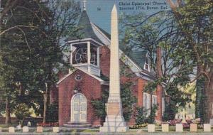 Christ Episcopel Church Erected 1734 Dover Delaware