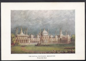 Sussex Postcard - The Royal Pavilion, Brighton, From The East  LC3484
