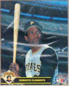 Roberto Clementi MLB Action Photos Series #1 Super Stars 1990