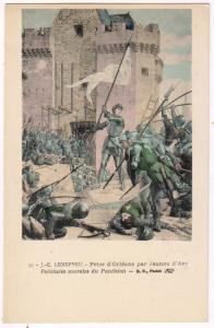 J.-E.Lenepveu, Prise d'Orlean par Jeanne d'arc ----