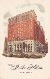 New York City The Statler Hilton