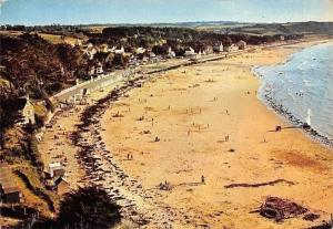 France Erquy Plage de Caroual Beach Promenade Panorama