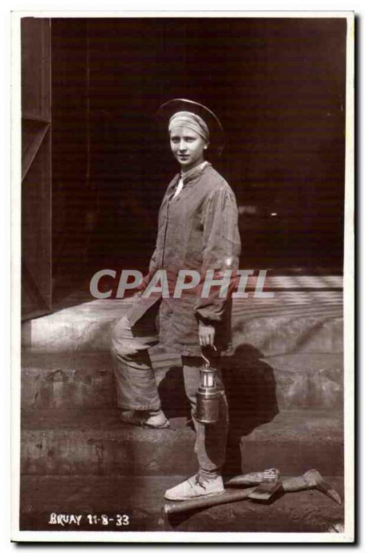 CPA Real photo BRuAy 11 8 33 Minor (woman)