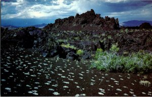 Vintage Idaho Postcard, Devils O , Craters of the Moon National Monument, pb24
