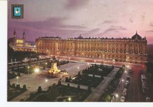 Postal 022465 : Plaza de Oriente y Palacio real - Madrid