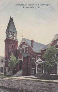 Indiana Lawrenceburg Presbyterian Church And Parsonage