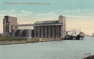 FORT WILLIAM, Ontario, Canada, 1900-10s; C. P. R. Elevator D