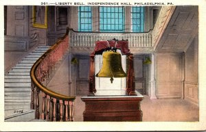 Pennsylvania Philadelphia Independence Hall Liberty Bell 1937