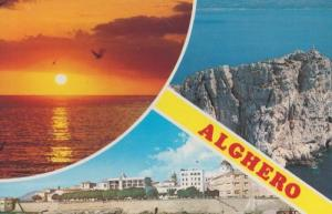 Alghero Sardegna Postcard