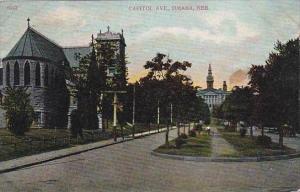 Nebraska Omaha Capitol Avenue 1908