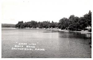 Maine  Smithfield , North pond Shore Line ,