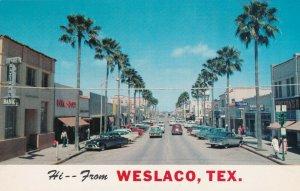 WESLACO , Texas , 40-60s; Main Street
